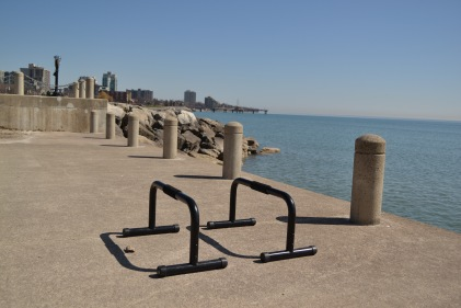 Waterfront gym